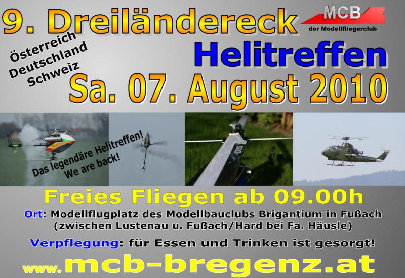 9.  Dreiländereck Helitreffen Modellbauclub Brigantium MCB
