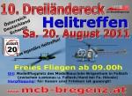 10. internationale Dreiländereck Helitreffen 20.08.2011