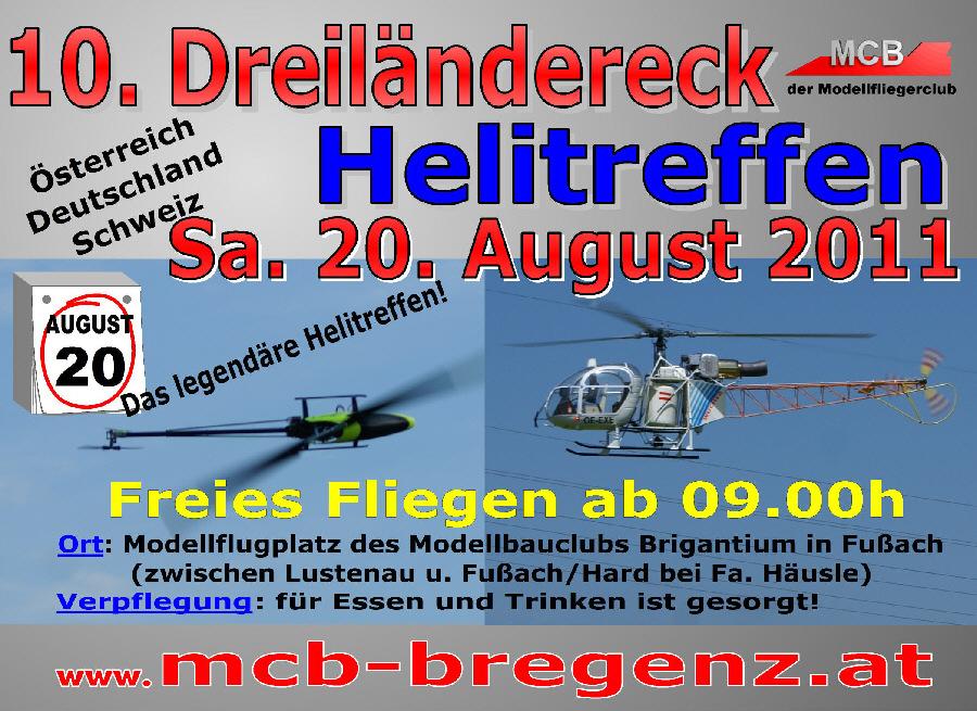 10. Dreiländereck Helitreffen 2011