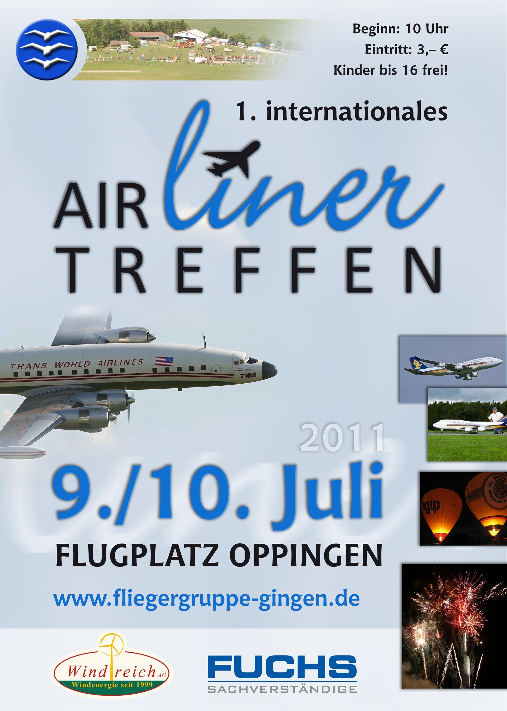 Airlinertreffen 2011