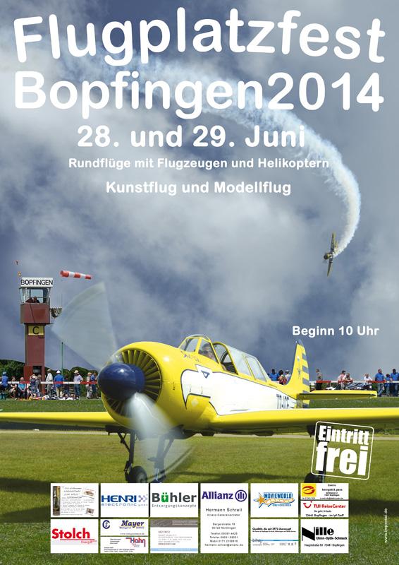 Flugplatzfest Bopfingen 2014