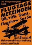 26. Flugtage auf dem Roßfeld 08.09. – 09.09.2012
