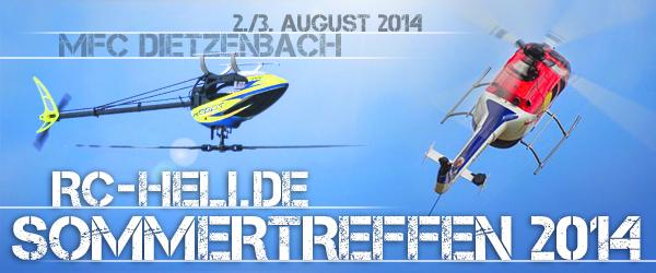 rc-heli Sommertreffen 2014
