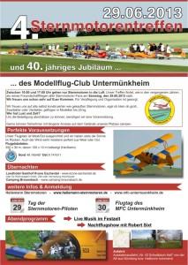 5. Sternmotorentreffen Modellflugclub Untermünkheim e.V.